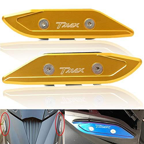 T-MAX 530 Espejos Laterales Tapacubos de Aluminio CNC para
