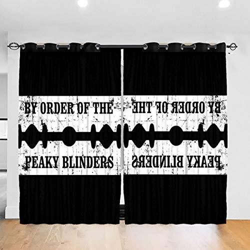 Les rideaux satin et soie Peaky Blinders
