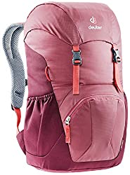 Deuter Junior Kid's Backpack for School and Hiking - Cardinal/Maroon