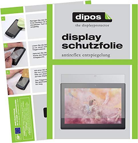 dipos I 2X Schutzfolie matt kompatibel mit Lenovo Miix 320 10 Zoll Folie Displayschutzfolie