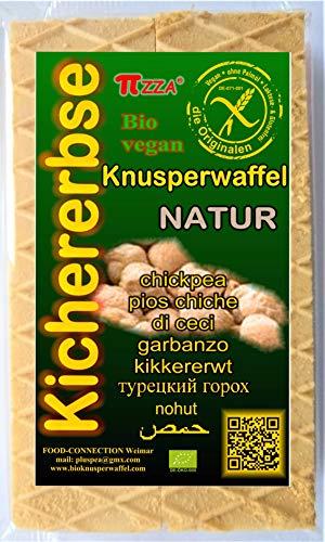 Bioknusperwaffel-Kichererbse Natur 4x55g