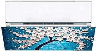 ZXCV El Aire Acondicionado Deflector de Salida de Aire frío Puede Evitar Que el Aire frío de la sopla Directamente.Está Hecho de Material de poliéster y es fácil de Instalar JCY