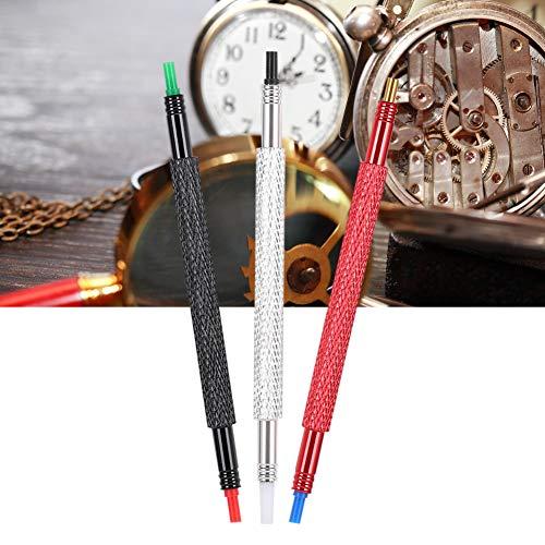 Nadeldrücker Uhrhandpresser, 3 Stück Doppelkopf Uhrzeiger B062 1 2 3 Uhren Reparatur Werkzeug zur Reparatur von Uhren