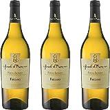 Friulano Doc | Friuli Isonzo | I Feudi di Romans | Vino Bianco del Friuli | 3 Bottiglie 75...