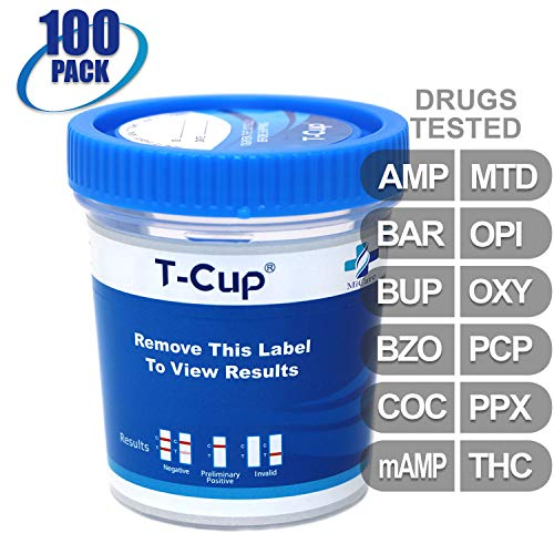 Review Of MiCare [100pk] - 12-Panel Multi Drug Test Cup (AMP/BAR/BUP/BZO/COC/mAMP/MTD/OPI/OXY/PCP/PP...