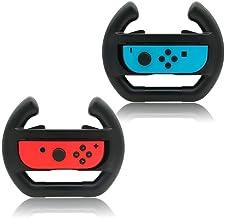 MoKo Nintendo Switch volante, [2 unidades] Manipulação de jogo de corrida para controle de controle de controle de joy-con...