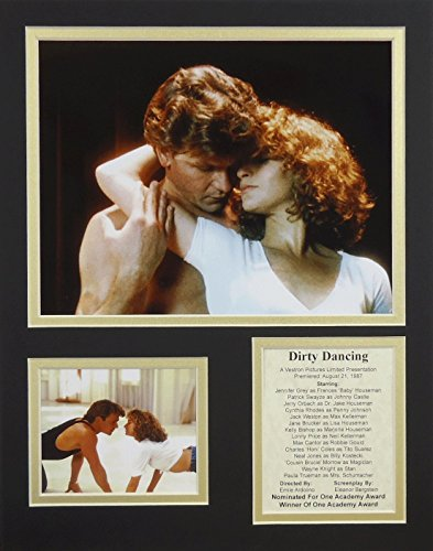 Dirty Dancing 11' X 14' Unframed Matted Photo Collage By Legends Never Die, Inc.