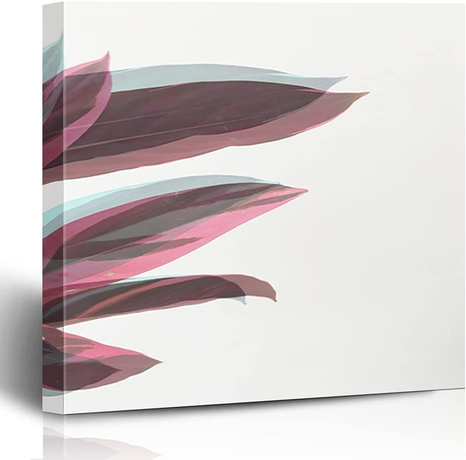 FAREYY Canvas Prints Floral Ghost Wall Save money Plant Leaves Photography Free shipping New
