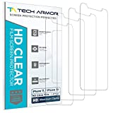 Tech Armor HD Clear Plastic Film Screen Protector (NOT Glass) for New 2019 Apple iPhone 11 / iPhone Xr - Case-Friendly, Scratch Resistant, Haptic Touch Accurate [4-Pack]