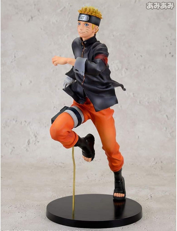 JTWMY Spielzeug Modell Anime Charakter Naruto Ornamente Souvenir Collectibles Crafts Laufen Vortex Naruto 22 cm Spielzeug Statue