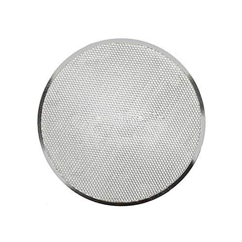 Pantalla de pizza, malla sin costuras para horno de pizza, bandeja de aluminio para hornear utensilios de cocina para horno accesorios para hornear malla antiadherente para pizza (tamaño: 8 pulgadas)