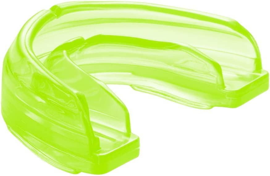 Shock Doctor Braces Mouthguard – No Boil/Mold Instant Fit – Superior Protection and Comfortable Fit – Adult/Youth