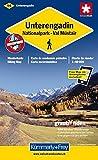 Wanderkarte Unterengadin 1 : 60 000, wasserfest. Engiadina Bassa, Nationalpark Val Müstair (Kümmerly+Frey Wanderkarten)