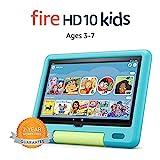 All-new Fire HD 10 Kids tablet, 10.1', 1080p Full HD, ages 3–7, 32 GB, Aquamarine