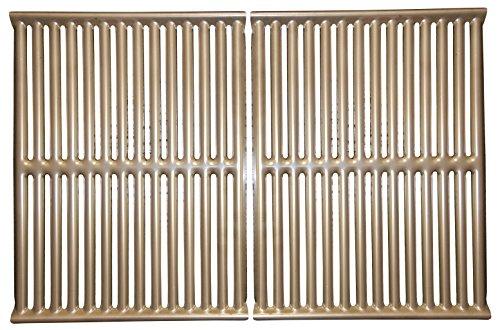 Music City Metals 534S2 Gestanzter Grillrost aus Edelstahl für Gasgrills der Marke Ducane - Silberfarben (2-teilig)