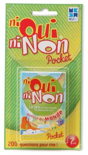 Megableu - 678053 - Jeu de voyage - Pocket Ni Oui Ni Non...