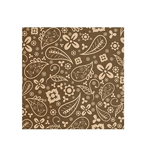 Pañuelo de cachemir CowBoy cuadrado grande bufanda ligera impresión para hombres, mujeres y niños 23.6 x 23.6 pulgadas 2030337