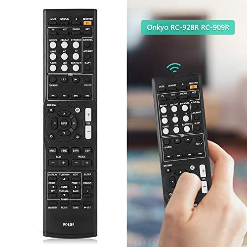 Afstandsbediening voor Onkyo RC-928R RC-909R, vervangende televisieversterker Afstandsbediening voor Onkyo RC-928R RC-909R