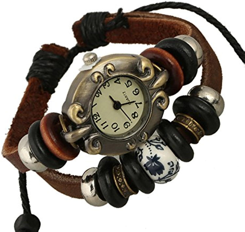 XM Hot temperament simple versatile leather bracelet Leather Bracelet Watch fashion watch
