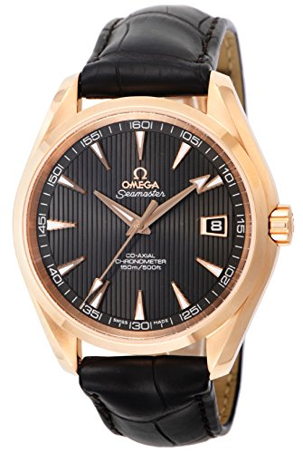 Omega Seamaster Aqua Terra 150M / orologio uomo / quadrante marrone teak /...