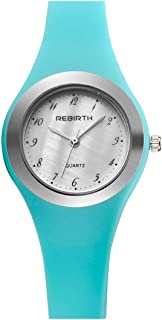 Kid's Watch,Girls Watches Jelly Blue Watch Design Sport Watch Simple Mini Cute Outdoor Quartz Wrist Watches with Soft Silicone Watch Band Waterproof Small Dial Watch