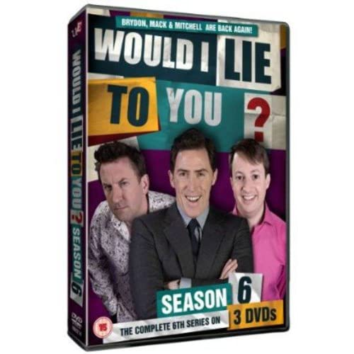 Would I lie To You Series 6 (As seen on BBC1)