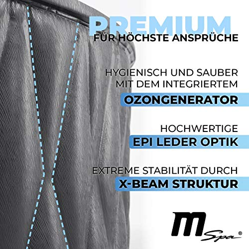 Miweba MSpa Premium Mont Blanc P-MB06 aufblasbarer Whirlpool - Bild 3