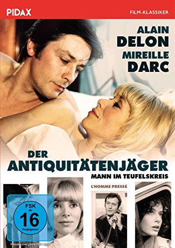 Der Antiquitätenjäger (Mann im Teufelskreis) / Rasante Tragikomödie mit Alain Delon (Pidax Film-Klassiker)