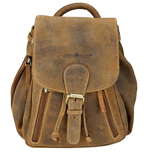 Greenburry Vintage City Rucksack Leder 25 cm