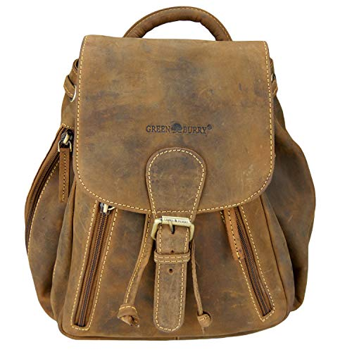 Greenburry Vintage City Rucksack Leder 25 cm