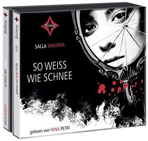 So weiß wie Schnee: Gelesen von Nina Petri. 5 CD. Laufzeit ca. 6 Std. 20 Min.