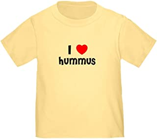CafePress I Love Hummus Toddler T-Shirt Toddler Tshirt