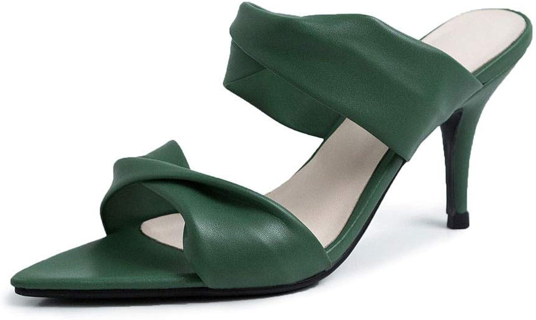 MENGLTX High Heels Sandalen Damen High Heels Pantoletten Frauen Schuhe Frau Casual Party Sommer Hausschuhe 2019 Weibliche Schuhe