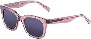 Ocean Sunglasses San Clemente-Gafas de Sol Lentes Ginger, Color Transparente y Gris