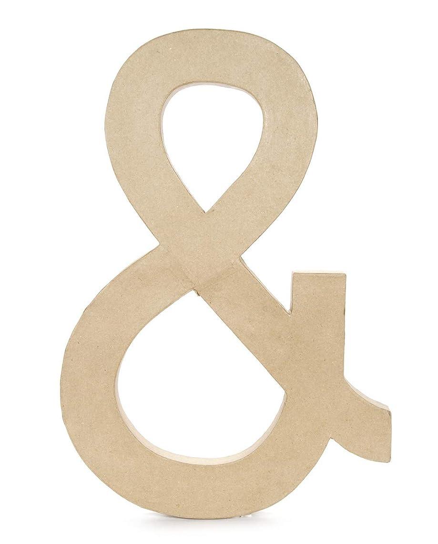 Darice Paper Mache Symbol - Ampersand - 23.5 inches