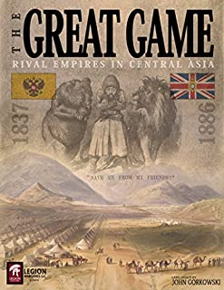 LEG: The Great Game, Rival Empires in Central Asia, 1837-1886, Boardgame