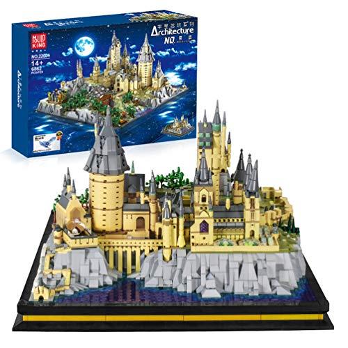 Msoah Harry Potter -Castillo De Hogwarts, Maqueta De Juguete - Kit De Construcción - 6862PCS