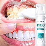 Tireow - Dentifrice blanqueante para Baimis Espuma dental, previene la carie dental, fortalece los dientes y las encías (100 ml)