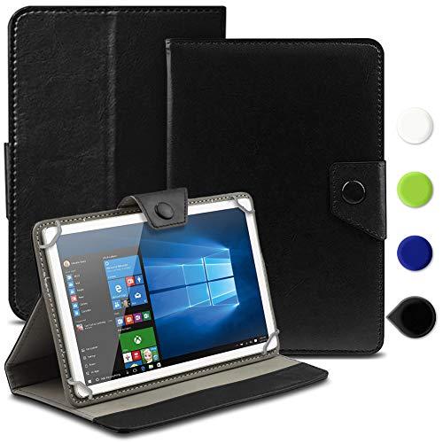 Tablet Tasche kompatibel für PEAQ PET 100 Hülle Hülle Cover Schutzhülle Etui Tablethülle, Farbe:Schwarz