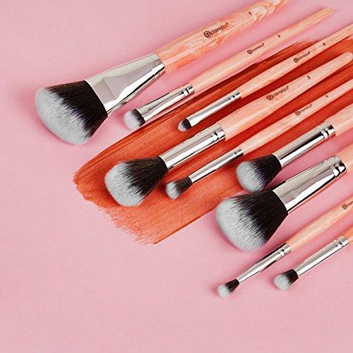 BH Cosmetics Rose Quartz Brush Set