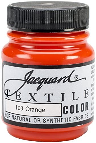 Jacquard Products Textile Color Fabric Paint 2.25-Ounce, Ruby Red