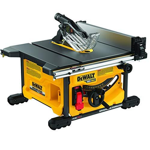 DEWALT FLEXVOLT 60V MAX Table Saw, 8-1/4-Inch, Tool Only (DCS7485B)
