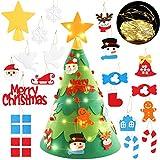 ZOYLINK LED Árbol de Navidad de Fieltro Decoraciones de la Navidad