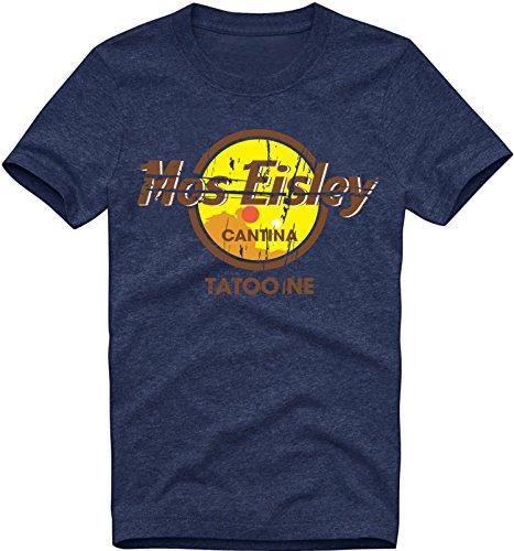 EZYshirt® Mos Eisley Cantina Tatooine Herren Organic Rundhals T-Shirt