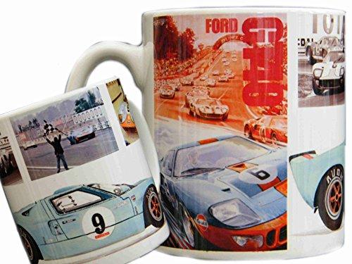 Ford GT40 Tasse, Nürburgring, Shelby, Le Mans, J-Car