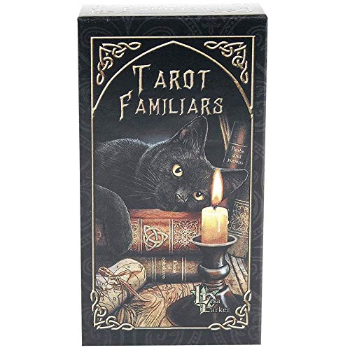 Juegos de Tarot -WENTS familiars Tarot Card,Juego de cartas del tarot,Juego de cartas de adivinación,Patrón único y exquisito,Embalaje de caja colorida