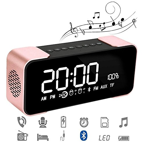 Bluetooth 4.2 Portable Wireless Stereo...