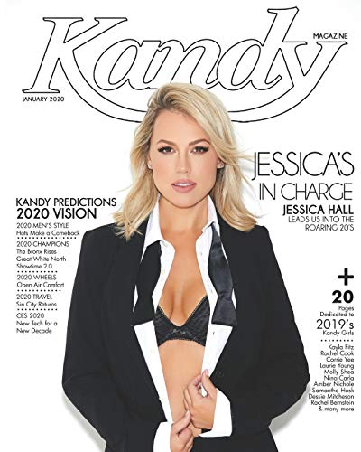 Kandy Magazine January 2020: Jessica's in Charge: Jessica Hall Leads Us Into The Roaring 20s