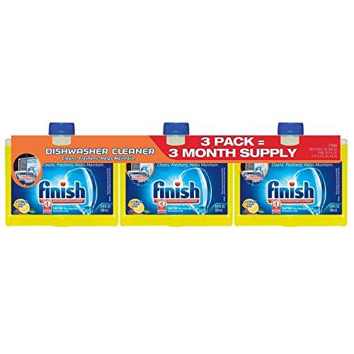 Finish Dishwasher Cleaner - 8.45 oz - 3 pack
