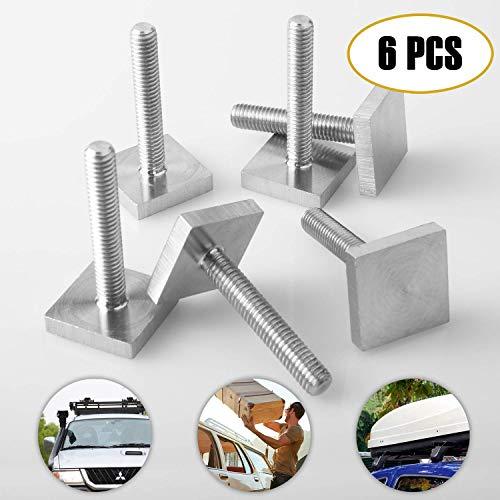 TOLIANCLE Dachbox Auto T-Nut Thule Pacific 6er Setfür Dachträger kompatibel zu Thule Träger 35 mm